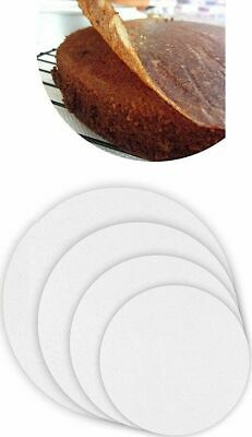 £2.89 • Buy 50 Greaseproof Baking Cake Tin Liners Non Stick Paper Circles 6  7  8  9