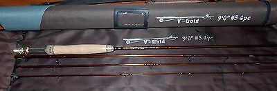 $ CDN139.21 • Buy 5WT Fly Fishing Rod 9FT 4Piece Graphite IM12 &Cordura Tube FREE 3 DAY DELIERY