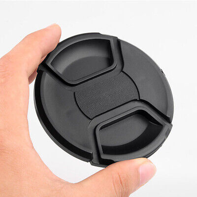 AU2.54 • Buy 8 Sizes Camera Center Pinch Snap On Front Lens Cap Cover For Canon Nikon Sony Df