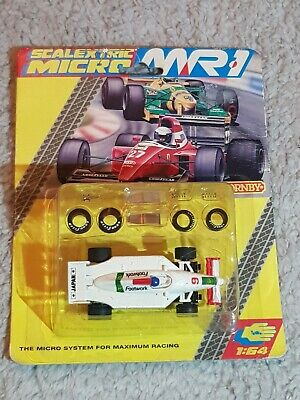 RARE MARCHON MR1 MICRO SCALEXTRIC #9 FOOTWORK ARROWS BP F1 - 1:64 . New Sealed  • 80£