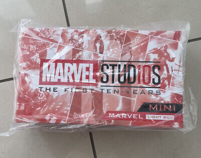 $ CDN174.87 • Buy Official Hot Toys Marvel Studios First 10 Years Mini Light Box BRAND NEW! U.K.