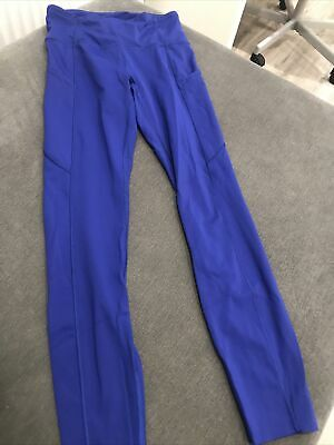 $ CDN96.43 • Buy Lululemon Leggings Us 4 Uk 8 Royal Blue