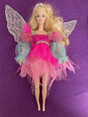 Barbie - 2003 Swan Lake - As The Fairy Queen, Working Light Up Wings • 14£
