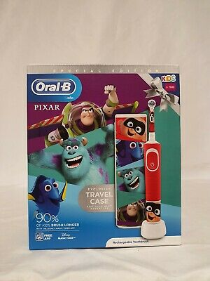 AU42.41 • Buy Oral-B Kids Vitality Special Edition Pixar Kids 3+ Electric Toothbrush & Case