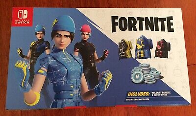 AU170 • Buy Nintendo Switch Fortnite Wildcat Bundle Code Only 2000 VBucks FREE SHIP