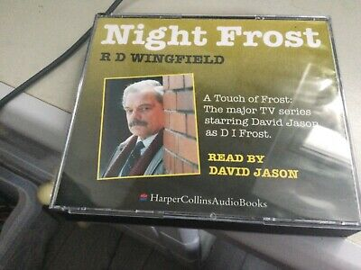 LIKE NEW! NIGHT FROST By R D WINGFIELD 3 CD AUDIOBOOK  • 5£