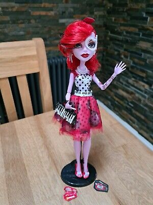 Monster High Operetta Dot Dead Gorgeous With Accessories Excellent Condition  • 15£