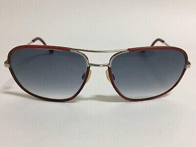 £65 • Buy Chanel 4162-q Silver/red Leather Glasses/sunglasses Frames