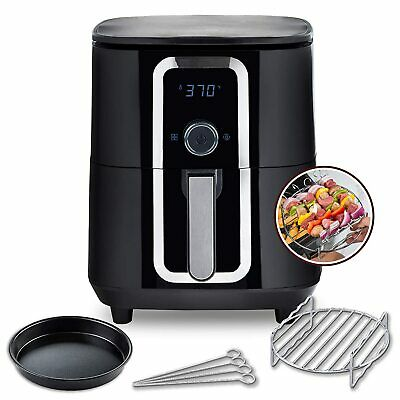 $ CDN119.13 • Buy Aria 7 Qt. Ceramic Family-Size Air Fryer With Accessories And Full Color Recipe