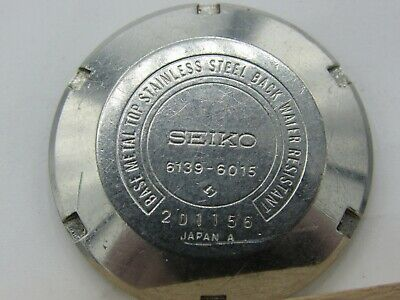 $ CDN62.75 • Buy Vintage WATCHMAKERS Estate SEIKO 6139-6015 CASE Back For PARTS/Repair