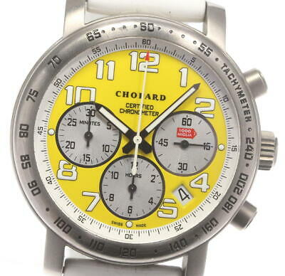 £2034.69 • Buy Chopard Mille Miglia 8915 Limited To 1000 Yellow Dial Auto Men's Watch_605691
