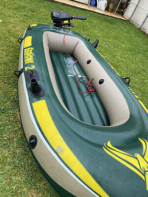 AU213.84 • Buy Inflatable Boat And Outboard Motor