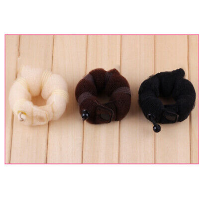 $ CDN8.96 • Buy 3 Pcs Hair Bun Maker Caterpillar Shape Hair Tool Styling Accessories For Girls