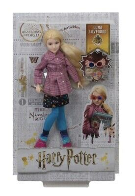 Harry Potter Luna Lovegood Doll With Accessories Brand New In Sealed Box. • 34.98£