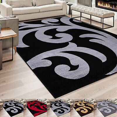 Extra Large Living Room Bedroom Rugs Carpets Modern Hallway Runner Floral Rug  • 55.99£