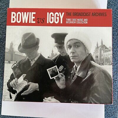 David Bowie Vs Iggy Pop: The Broadcast Archive 3 CD In Mint Condition. Magical • 7.51£