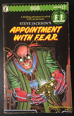 AU19.78 • Buy APPOINTMENT WITH F.E.A.R. Fighting Fantasy #17 1985 1st/1st Green Banner VG
