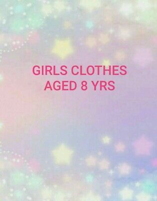 Girls Clothes Age 8 Yrs Make Your Own Bundle Tops Shorts Skirts Etc.  • 2.99£