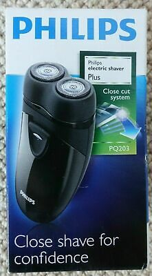 Philips Pq203 Compact Electric Shaver Close Cut System  Aa Batteries Bnib • 19.49£