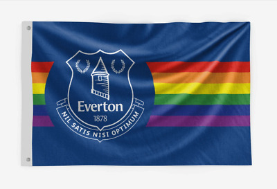 £27.99 • Buy Everton  Official  Limited Edition Rainbow Coloured Large Brand New Flag