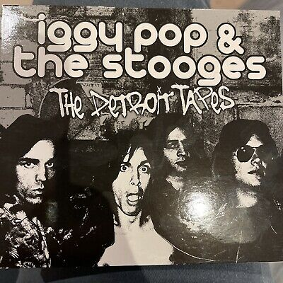 The Detroit Tapes By Iggy Pop & The Stooges 2 CD Set Of Rare Tracks • 2£