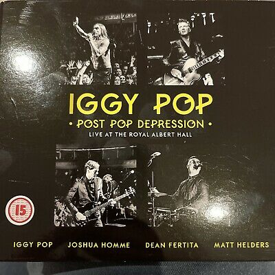 Iggy Pop - Post Pop Depression – Live At The Royal Albert Hall DVD & 2 X Cd. • 2.30£
