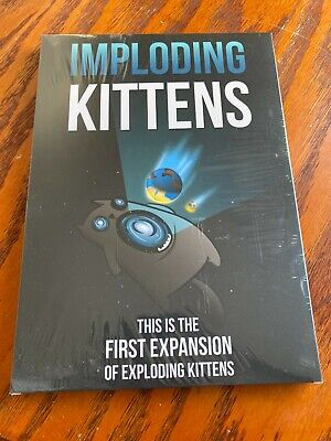 AU20.88 • Buy Imploding Kittens: The First Expansion Of Exploding Kittens NEW Free Shipping!
