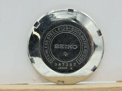 $ CDN188.29 • Buy Vintage WATCHMAKERS Estate SEIKO 1969/79 6139-6009 CASE Back For PARTS/Repair