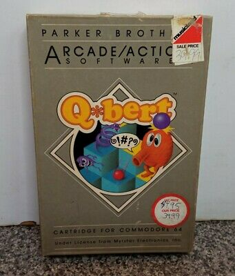$ CDN63.42 • Buy Qbert By Parker Brothers Cartridge  For Commodore 64 C-64 Vintage Open Box