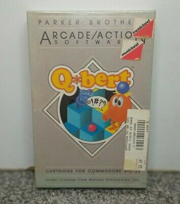 $ CDN63.42 • Buy Qbert By Parker Brothers Cartrige For Commodore Vic 20 V-20 Vintage Open Box
