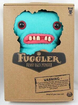 $ CDN30.45 • Buy Fuggler Gap Tooth McGoo Blue With 5 Teeth 9  Plush Funny Ugly Monster NEW In BOX