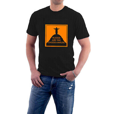 £14.50 • Buy Blessed Are The Cheesemakers T-shirt Monty Python. Life Of Brian Parody
