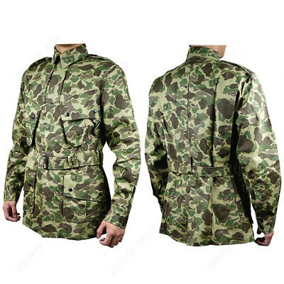 $98.99 • Buy WW2 US Army Military UNIFORM M42 PACIFIC CAMOUFLAGE JACKET COTTON
