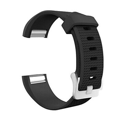 AU76.99 • Buy 15 Pack Replacement Wristbands For Fitbit Charge 2 Band Silicone Fitness Black L