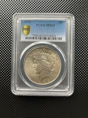 1923 Usa Silver Peace Dollar Coin. United States Of America  • 3.20£