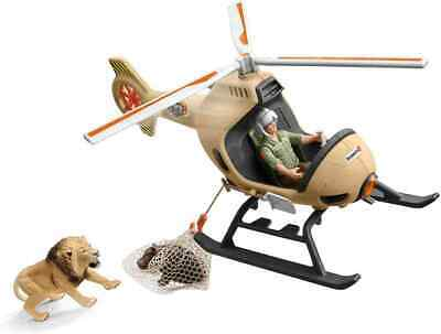 £27.98 • Buy Schleich Animals Rescue Helicopter Play Set For Children Over 3 Years Old