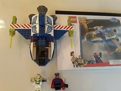 LEGO Toy Story Buzz's Star Command Spaceship (7593) • 12£