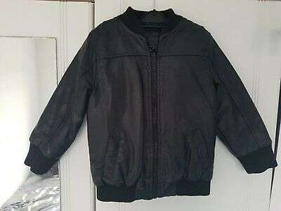 £4 • Buy Boys Faux Leather Jacket BROWN 18-24 Months