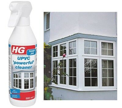 £14.99 • Buy UPVC Window Frame Cleaner Solvent Dirt Sill Cleaning Spray Conservatory PVC Door
