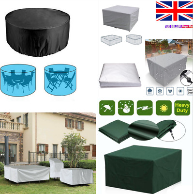 Heavy Duty Garden Patio Furniture Table Cover For Rattan Table Cube Outdoor Set' • 12.50£
