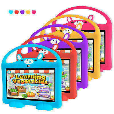 AU8.91 • Buy Cover Stand Soft Siliconet Case For 7 Inch Kids Tablet PC Waterproof Shockproof