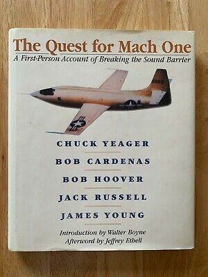 $31.35 • Buy GOOD The Quest For Mach One:A First-Person Account Of Breaking The Sound Barrier