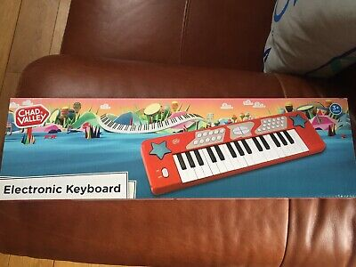 £7 • Buy New Argos Chad Valley Electronic Keyboard Age 3 Years Plus Battery Operated BNIB
