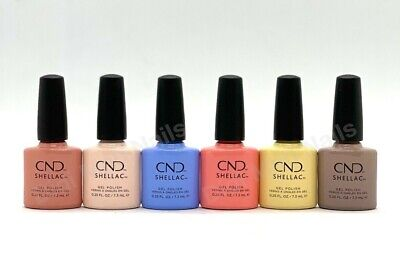 AU128.94 • Buy CND Shellac UV Gel Polish .25 Oz - THE COLORS OF YOU COLLECTION SPRING 2021 NEW!