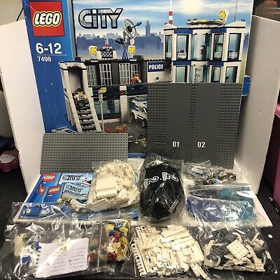 £42.90 • Buy Lego Police Station 7498 *Missing Pieces* With Box And Instructions