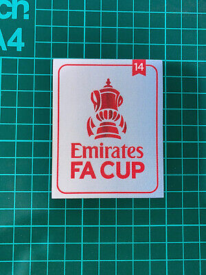 £4 • Buy Official FA Cup Football Badge/patch Cup 2020/21 Arsenal Holders