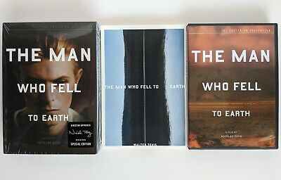 Criterion Collection The Man Who Fell To Earth SE DVD 2-Disc Set OOP David Bowie • 108.74£