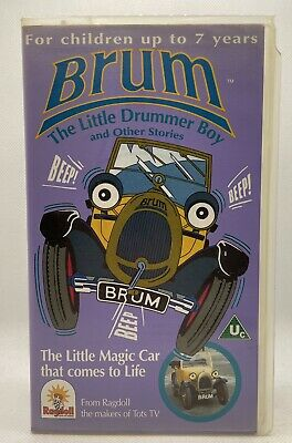 £59.99 • Buy Brum The Little Drummer Boy And Other Stories VHS Video Tape Cassette Kids TBLO