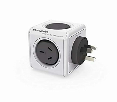 AU45.99 • Buy ALLOCACOC  PowerCube 2x USB IPhone Charger Double Adapter Cube Power 240v AU