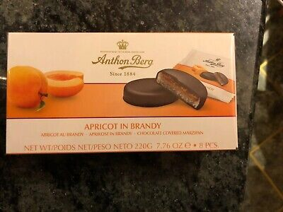 $15.80 • Buy Anthon Berg Apricot In Brandy Chocolate Covered Marzipan Chocolates 220g